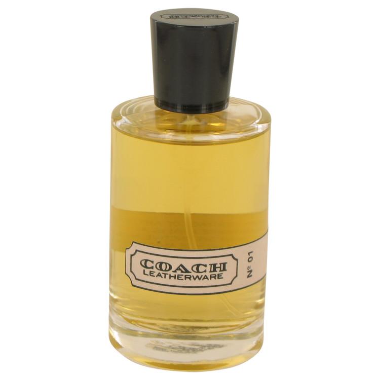 Coach Leatherwear No. 1 Cologne 95 ml Eau De Parfum Spray (unboxed) for Men