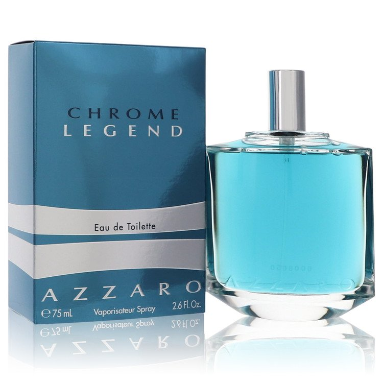 Chrome Legend Cologne by Azzaro 77 ml Eau De Toilette Spray for Men