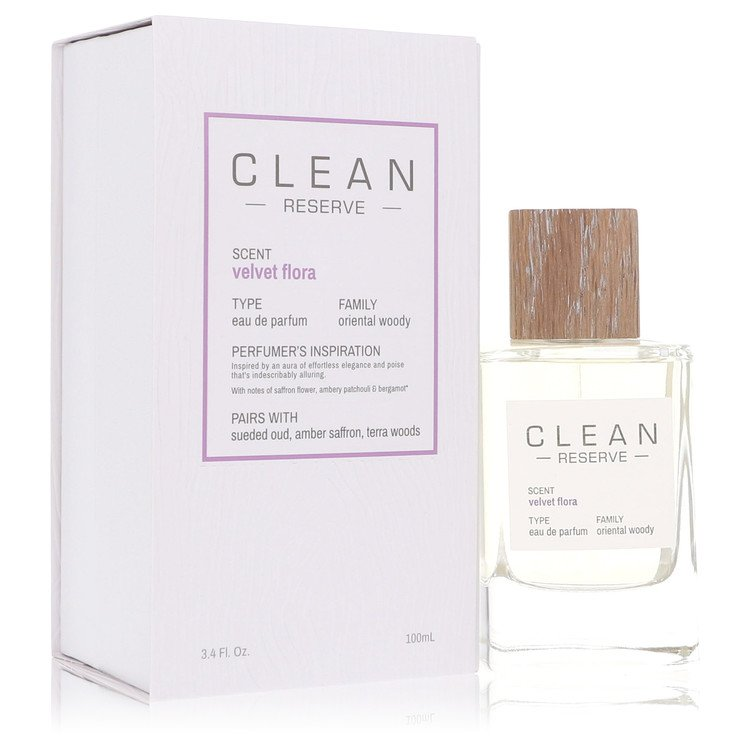 Clean Velvet Flora Perfume by Clean 100 ml EDP Spay for Women