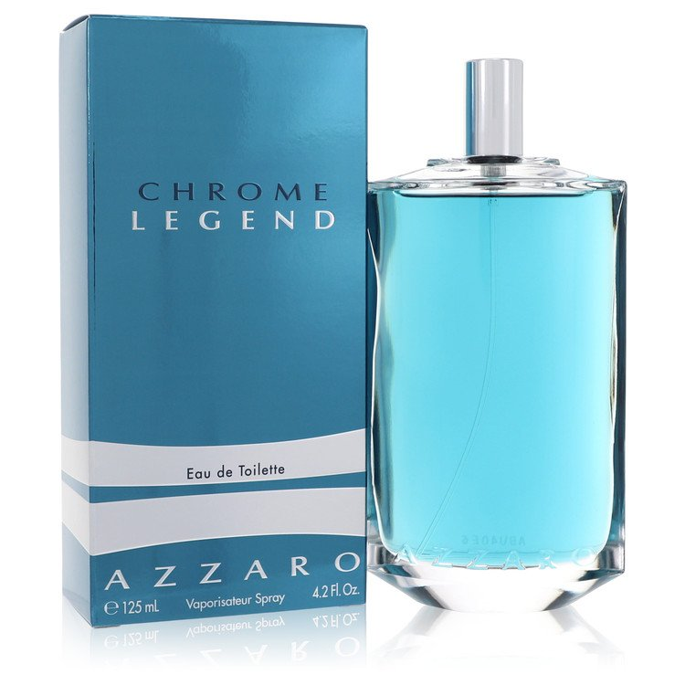 Chrome Legend Cologne by Azzaro 125 ml Eau De Toilette Spray for Men