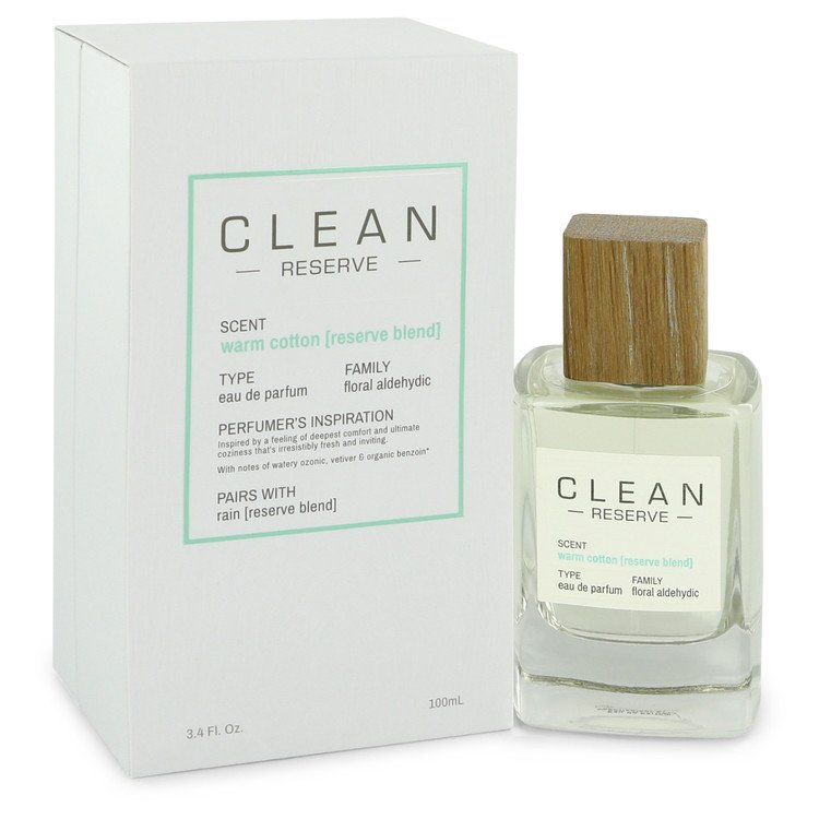 Clean Reserve Warm Cotton Perfume by Clean 100 ml EDP Spay for Women