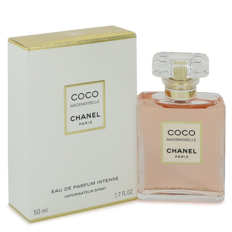 Coco Mademoiselle Perfume 50 ml Eau De Parfum Intense Spray for Women