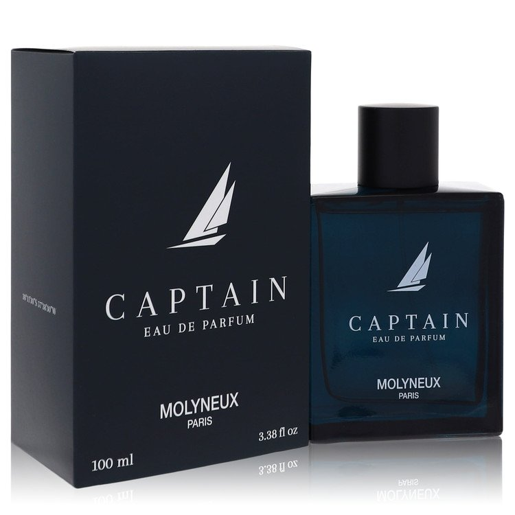 Captain by Molyneux for Men Eau De Parfum Spray 3.4 oz