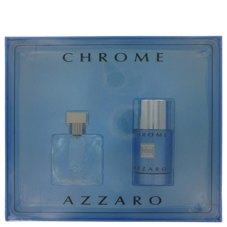 Chrome Gift Set -- Gift Set - 1 oz Eau De Toilette Spray + 2.7 oz Deodorant Stick for Men