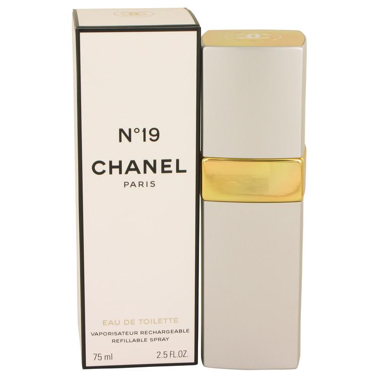 Chanel 19 Perfume 2.5 oz EDT Refillable Spray for Women