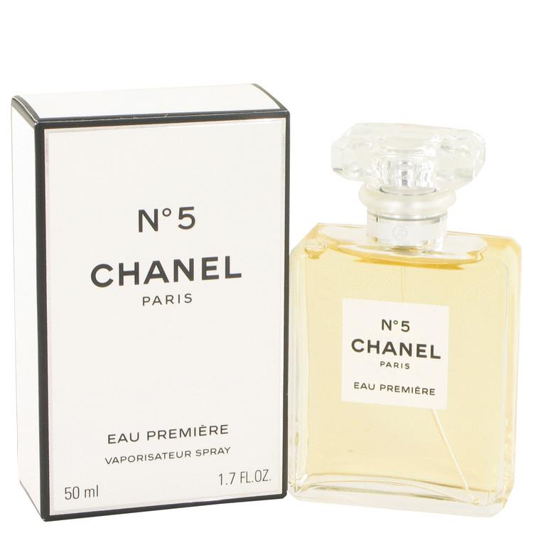 CHANEL No. 5 by Chanel for Women Eau De Parfum Premiere Spray 1.7 oz