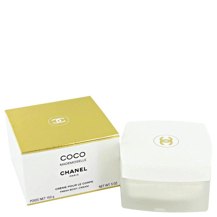 Coco Mademoiselle Body Cream by Chanel 5 oz Body Cream for Women