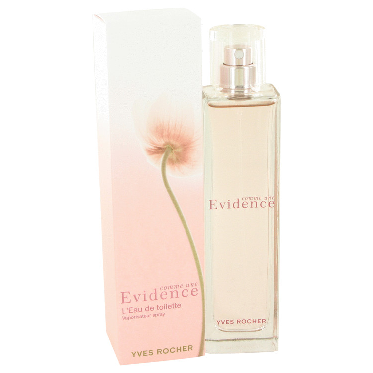 Comme Une Evidence Perfume by Yves Rocher 75 ml EDT Spay for Women