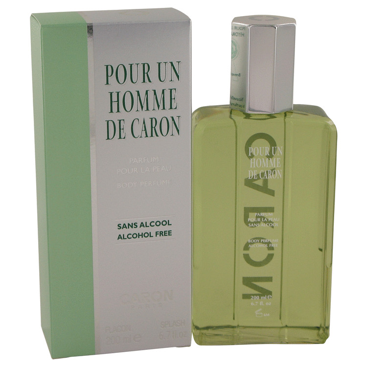 Caron Pour Homme Cologne by Caron 6.7 oz Body Perfume Splash for Men
