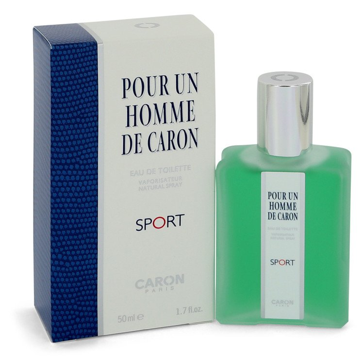 Caron Pour Homme Sport by Caron for Men Eau De Toilette Spray 1.7 oz