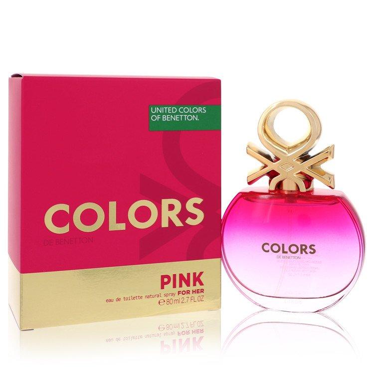 Colors Pink Perfume by Benetton 80 ml Eau De Toilette Spray for Women