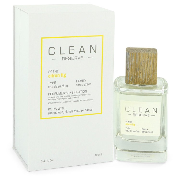 Clean Reserve Citron Fig Perfume by Clean 100 ml EDP Spay for Women