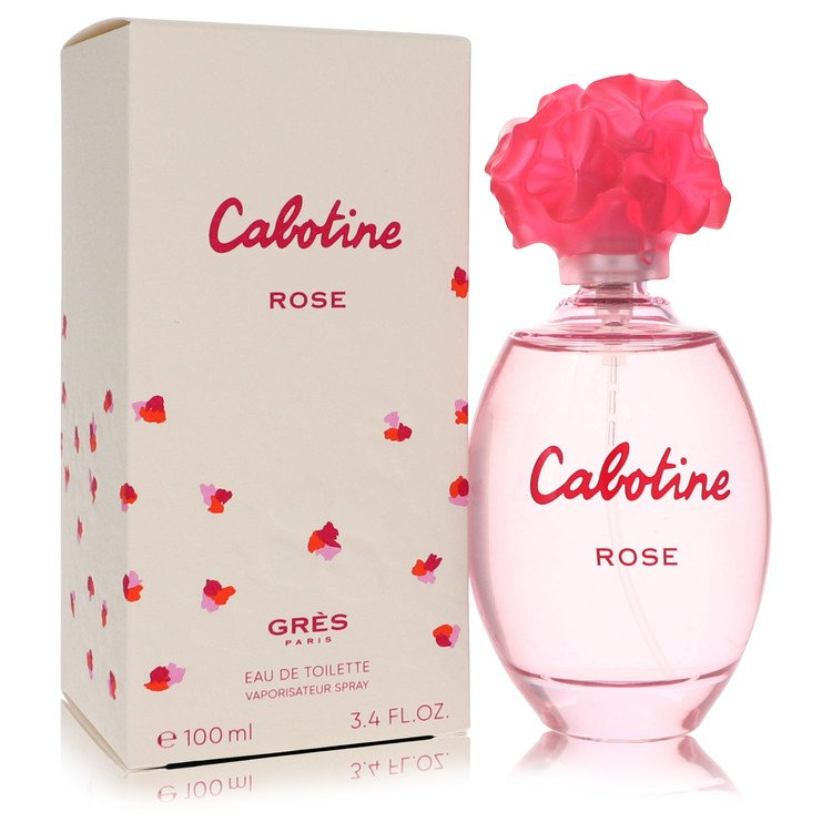 Cabotine Rose Perfume by Parfums Gres 100 ml EDT Spay for Women