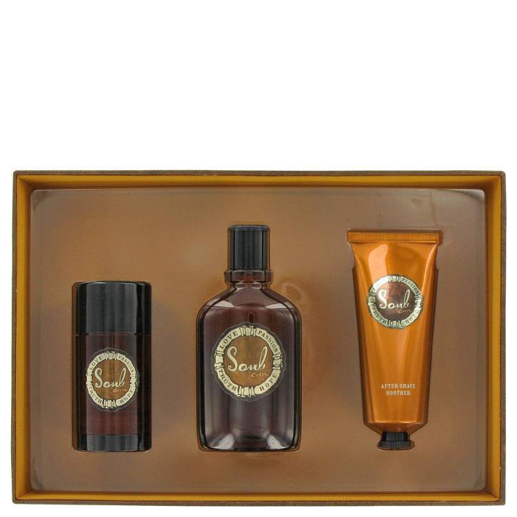 Curve Soul for Men, Gift Set (3.4 oz Cologne Spray + 3.4 oz Shower Gel + 2.6 oz Deodorant Stick)