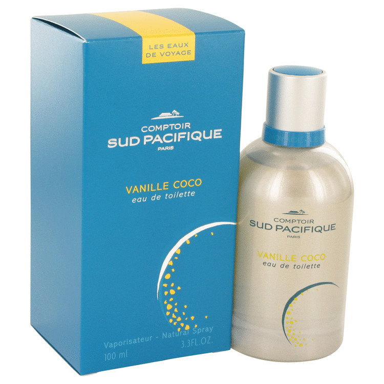Comptoir Sud Pacifique Vanille Coco Perfume 100 ml EDT Spay for Women
