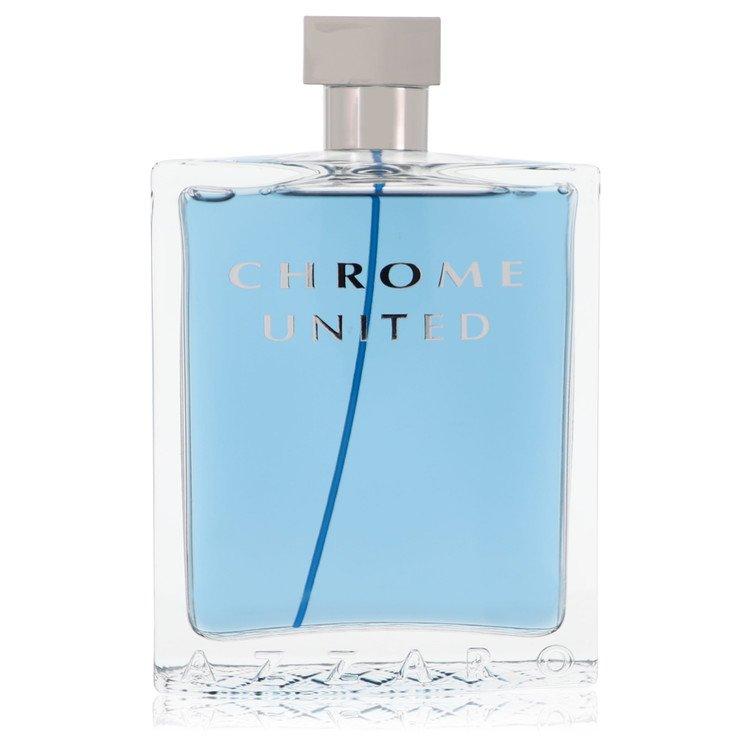 Chrome United Cologne 6.8 oz EDT Spray (unboxed) for Men