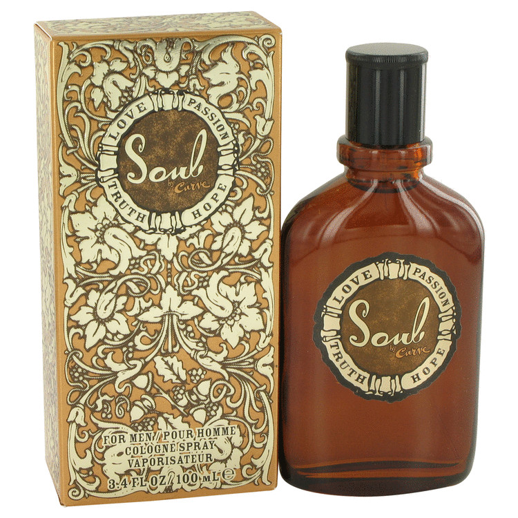 Curve Soul Cologne 100 ml Eau De Cologne Spray for Men