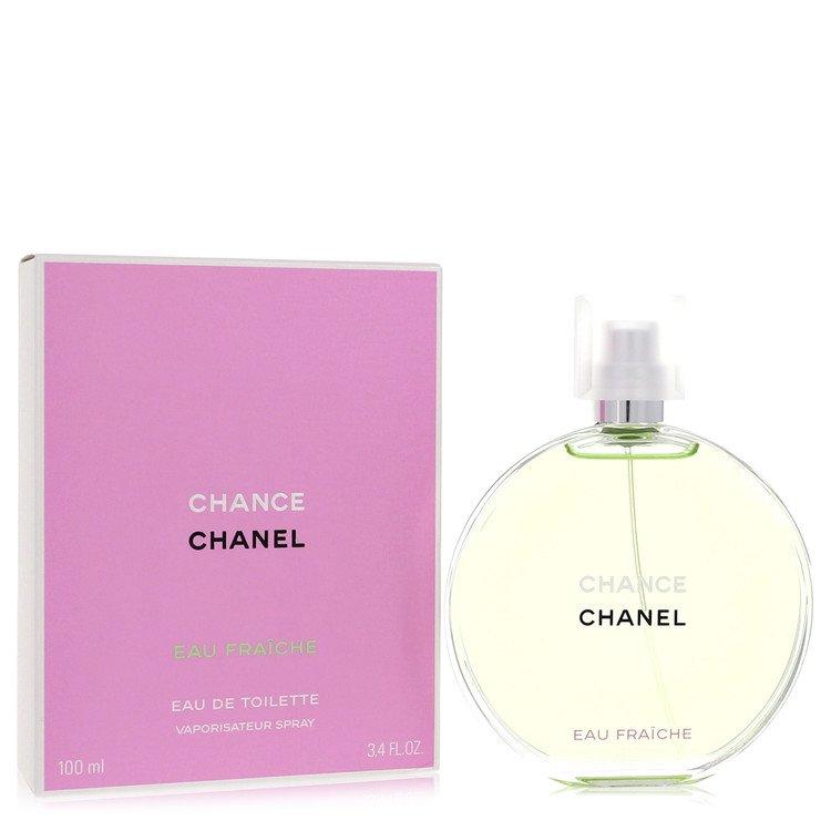 Chance Perfume by Chanel 3.4 oz Eau Fraiche Spray for Women