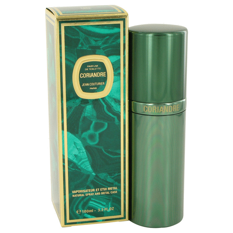 CORIANDRE by Jean Couturier –  Parfum De Toilette Spray (Metal Case) 3.4 oz 100 ml for Women