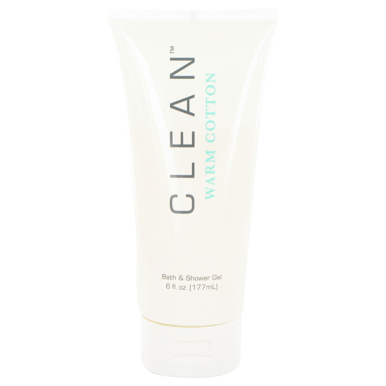 Clean Warm Cotton by Clean –  Shower Gel 6 oz 177 ml for Women