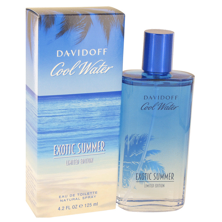Cool Water Exotic Summer Cologne 125 ml Eau De Toilette Spray (limited edition) for Men