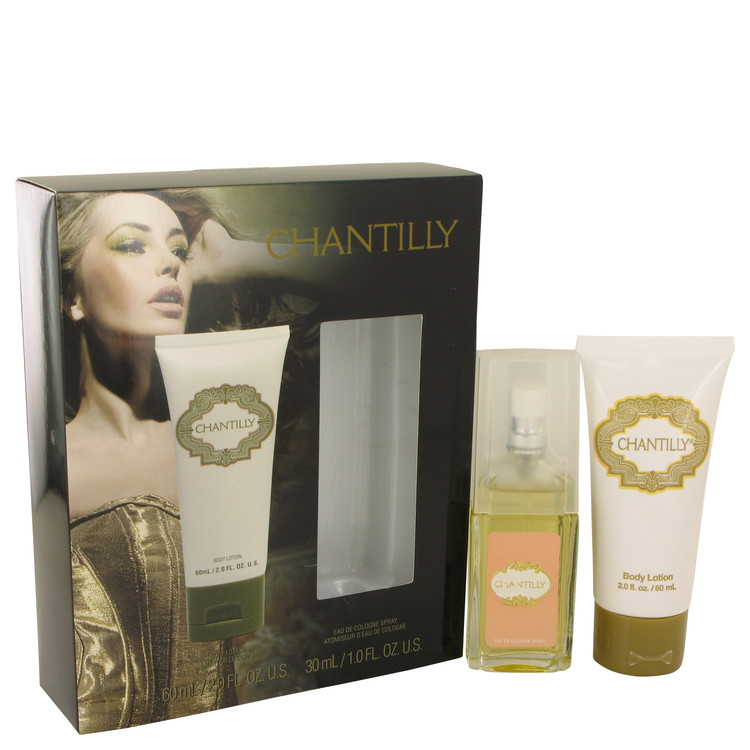 Chantilly for Women, Gift Set (1 oz EDC Spray + 2 oz Body Lotion)