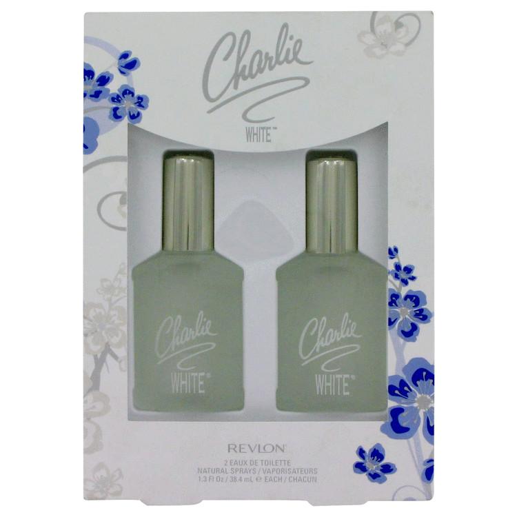 Charlie White Gift Set -- Gift Set - 2 - 1.3 oz Eau De Toilette Spray for Women