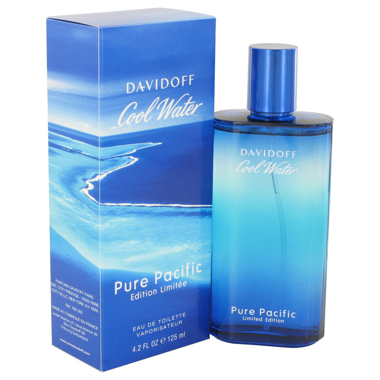 Cool Water Pure Pacific Cologne 4.2 oz EDT Spray (Limited Edition) for Men