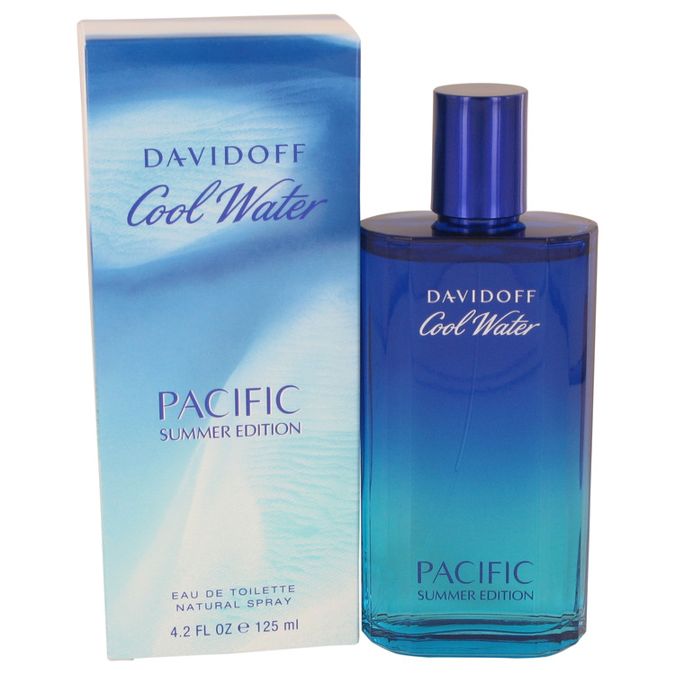 Cool Water Pacific Summer Cologne by Davidoff 125 ml EDT Spay for Men