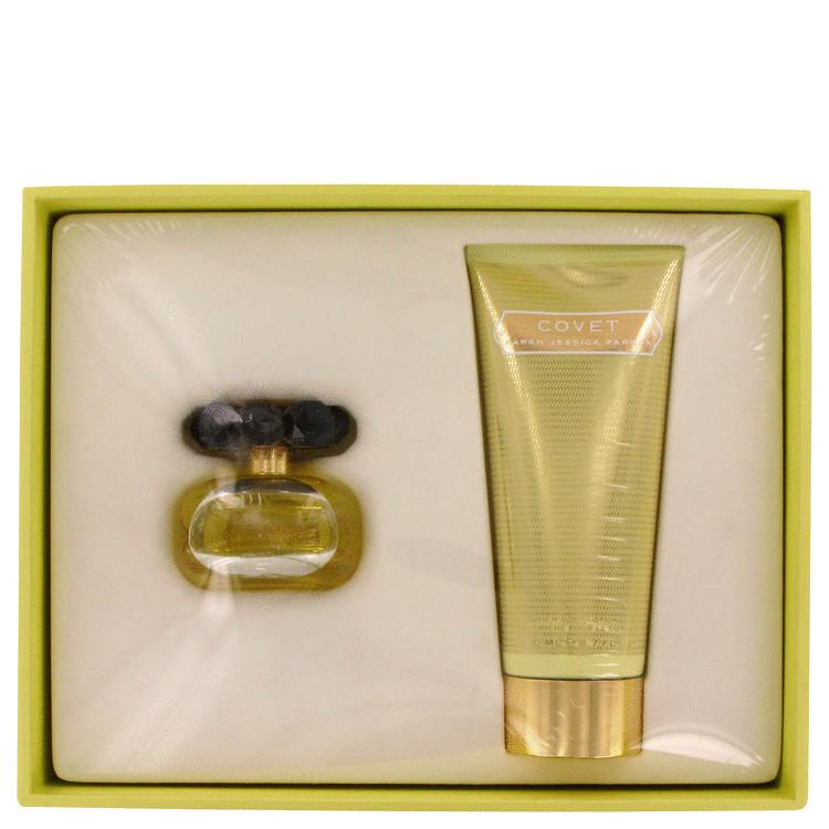 Covet Gift Set -- Gift Set - 1.7 oz Eau De Parfum Spray + 6.7 oz Body Lotion for Women