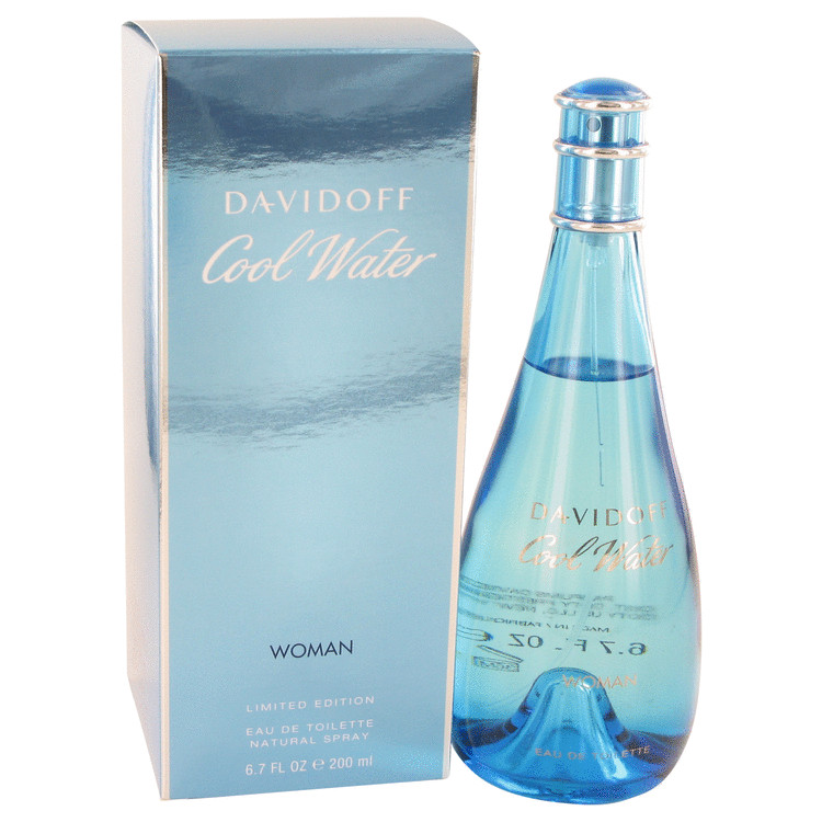 Cool Water Perfume by Davidoff 200 ml Eau De Toilette Spray for Women