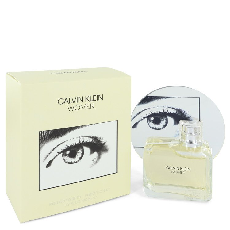 Calvin Klein Woman by Calvin Klein Eau De Toilette Spray 3.3 oz