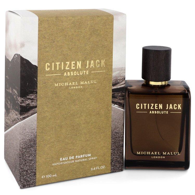 Citizen Jack Absolute by Michael Malul Men's Eau De Parfum Spray 3.4 oz