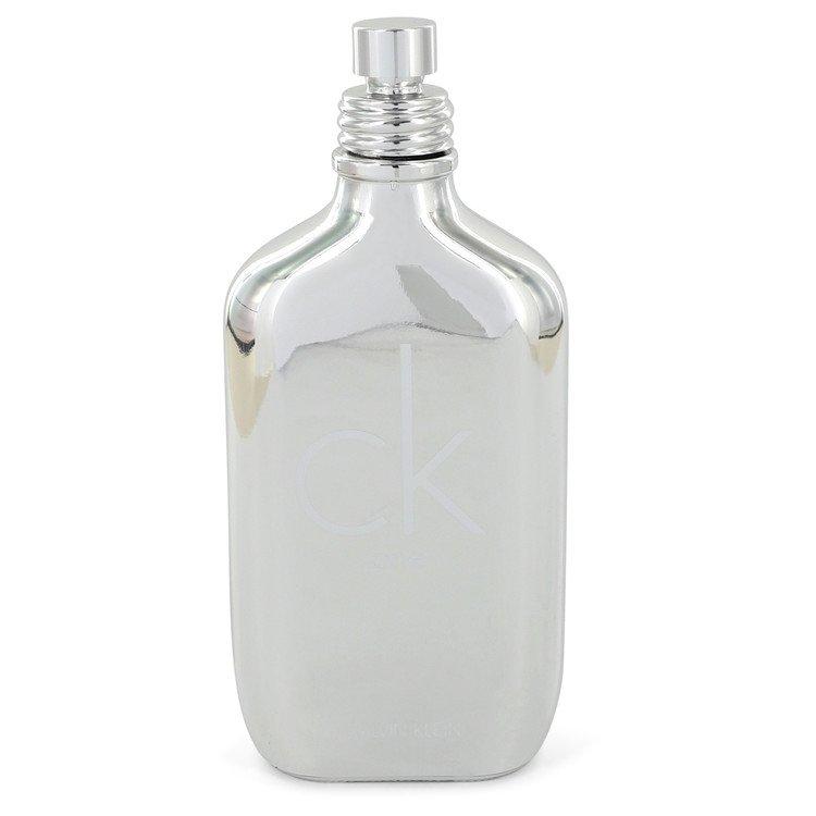 Ck One Platinum by Calvin Klein Women's Eau De Toilette Spray (Unisex Tester) 3.4 oz