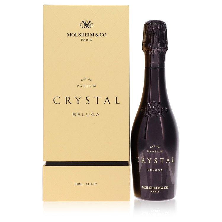 Crystal Beluga by Molsheim & Co Men's Eau De Parfum Spray (Unisex) 3.4 oz