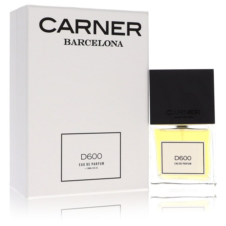D600 by Carner Barcelona for Women Eau De Parfum Spray 3.4 oz