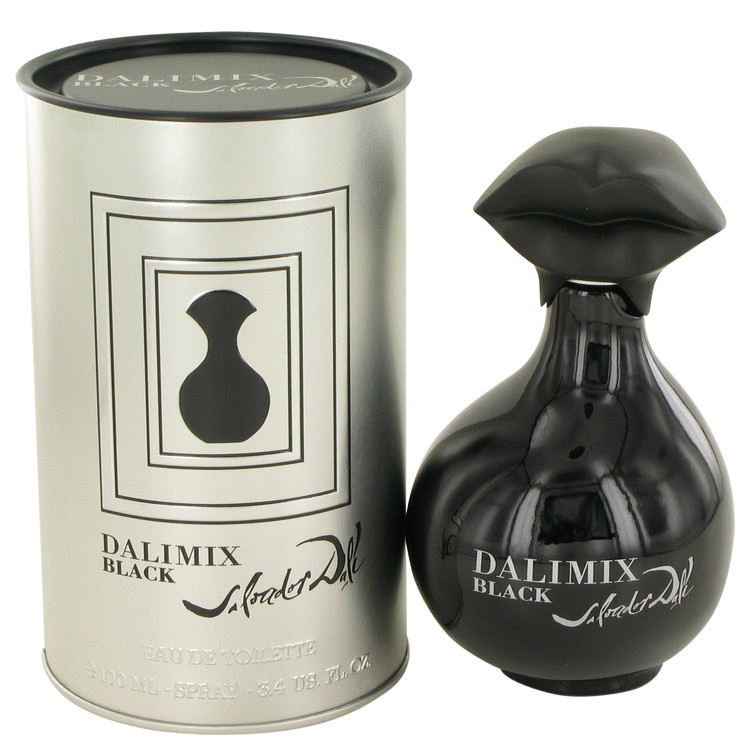 Dalimix Black Perfume by Salvador Dali 100 ml EDT Spay for Women