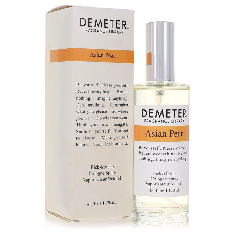 Demeter Asian Pear Cologne by Demeter Cologne Spray (Unisex) 4 oz
