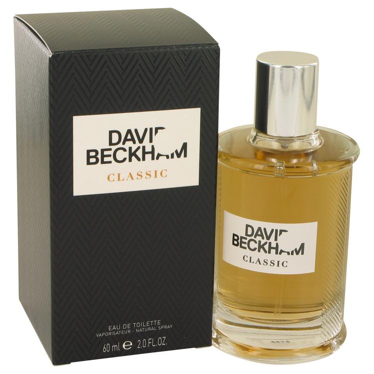 David Beckham Classic by David Beckham for Men Eau De Toilette Spray 2 oz