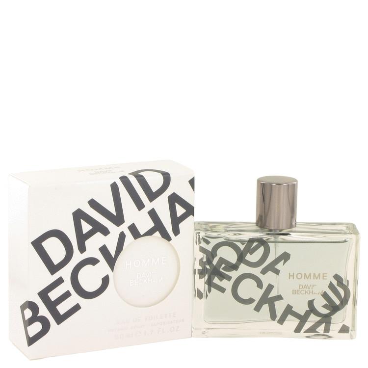David Beckham Homme Cologne by David Beckham 50 ml EDT Spay for Men