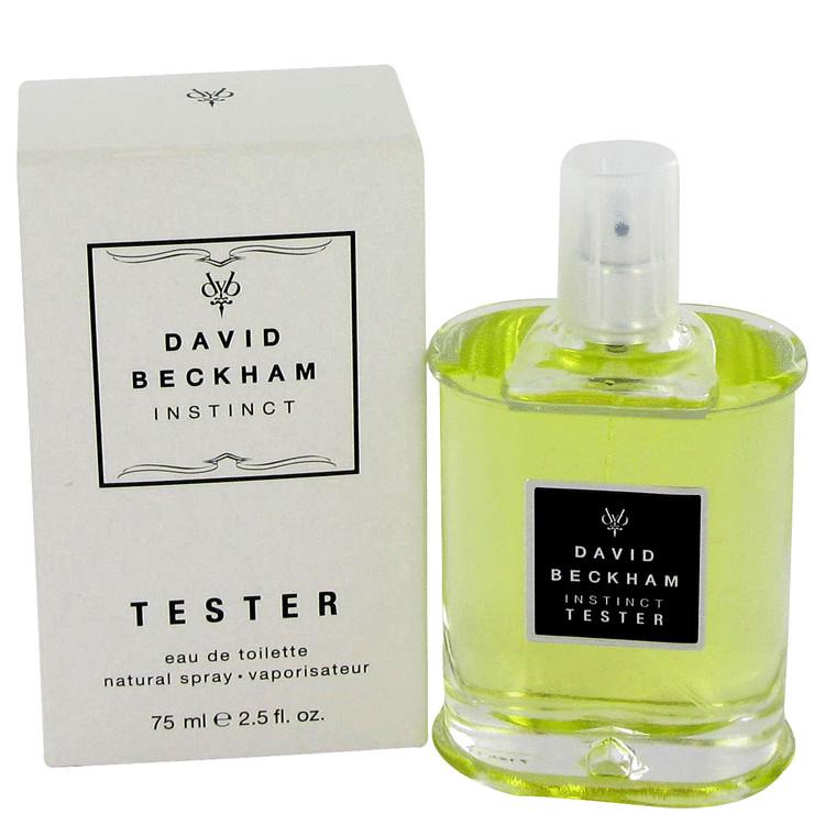 David Beckham Instinct Cologne 2.5 oz EDT Spray(Tester) for Men
