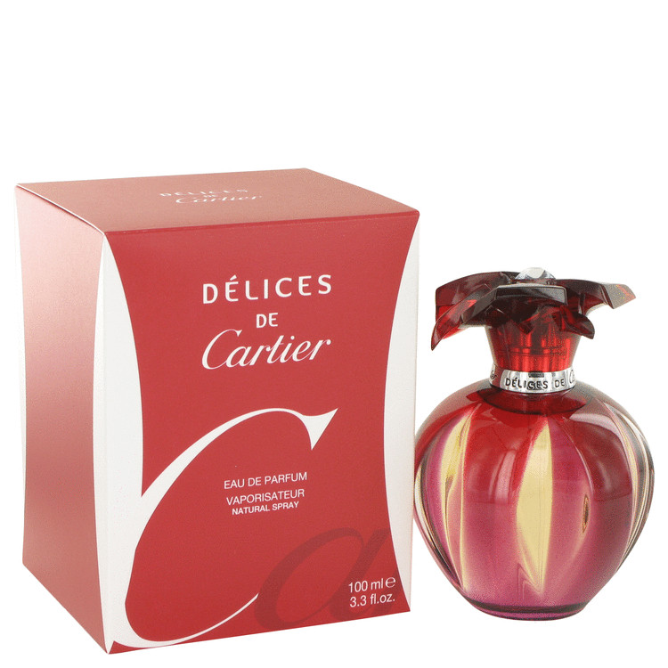 Delices De Cartier Perfume by Cartier 100 ml EDP Spay for Women