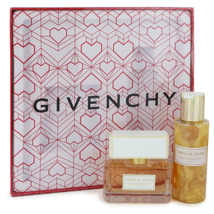 Dahlia Divin Gift Set -- Gift Set - 1.7 oz Eau De Parfum Spray + 3.3 oz Skin Dew Body Lotion for Women