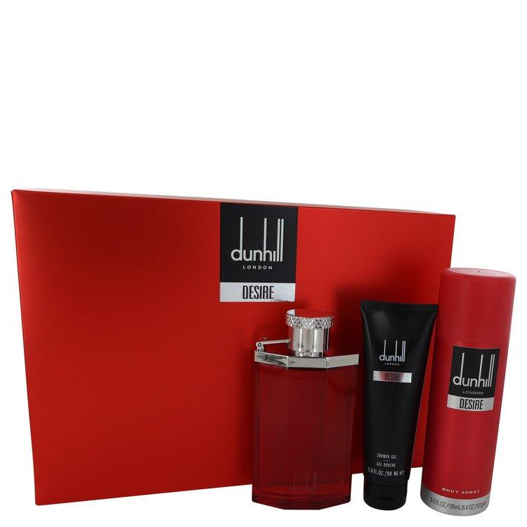 Desire Gift Set -- Gift Set - 3.4 oz Eau De Toilette Spray + 3 oz Shower Gel + 6.6 oz Body Spray for Men
