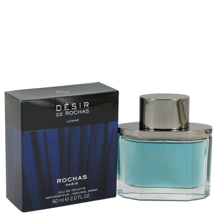 Desir De Rochas Cologne by Rochas 60 ml Eau De Toilette Spray for Men