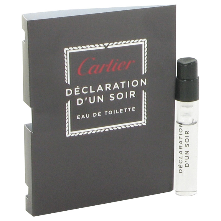 Declaration D'un Soir by Cartier for Men Vial (sample) .05 oz