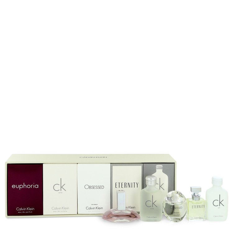 Euphoria Gift Set -- Gift Set - Deluxe Fragrance Collection Includes CK One, Euphoria, CK All, Obsessed and Eternity for Women
