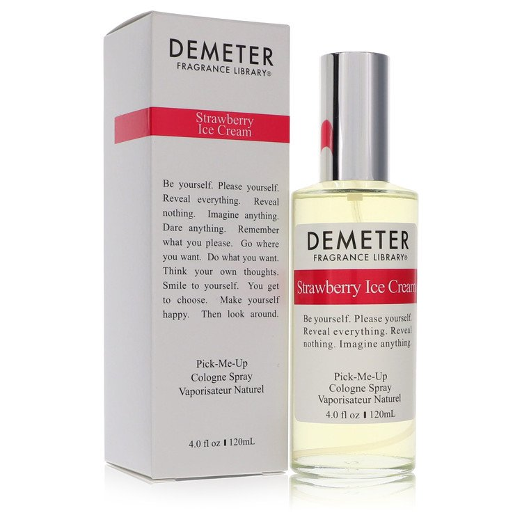 Demeter Perfume 4 oz Strawberry Ice Cream Cologne Spray for Women