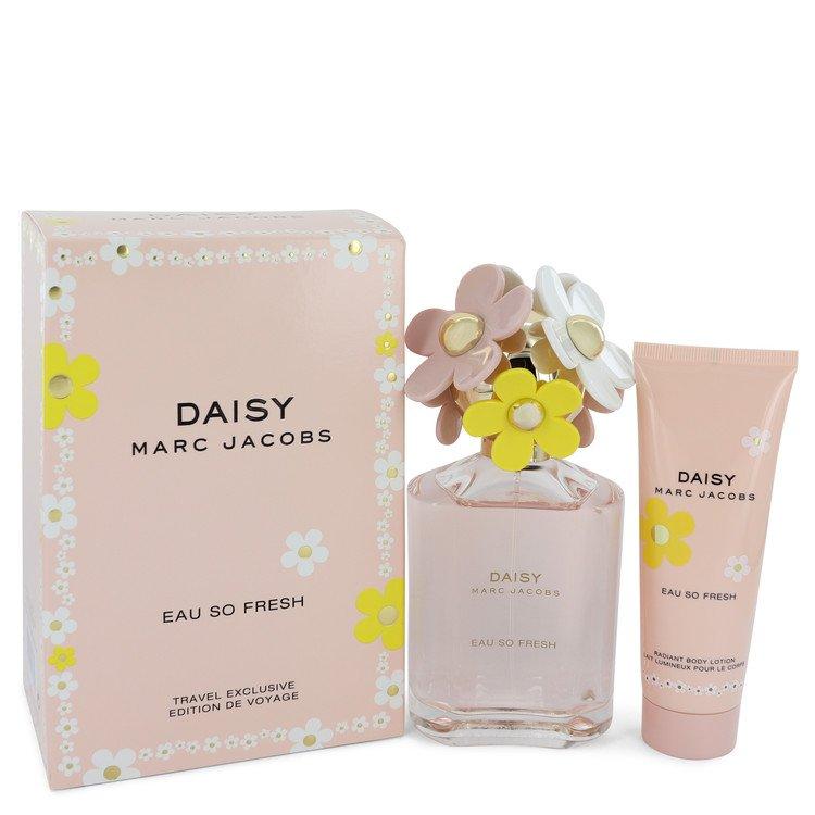 Daisy Eau So Fresh Gift Set -- Gift Set - 4.2 oz Eau De Toilette Spray + 2.5 oz Body Lotion for Women