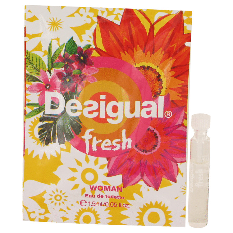 Desigual Fresh by Desigual Women's Vial (sample) .05 oz